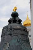 King Bell (Tsar Bell) in Moscow Kremlin. Color photo. Stock Photo