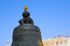 King Bell & x28;Tsar Bell& x29; in Moscow Kremlin. Color photo. Stock Photo