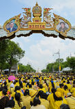 King Bhumibol 85 th birthday celebration royalty free stock images