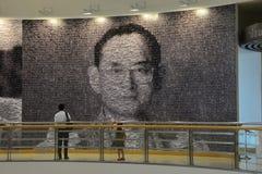 King Bhumibol Adulyadej Stock Image