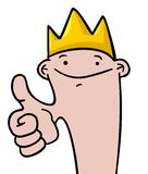 King boy Royalty Free Stock Image