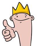King boy Royalty Free Stock Image