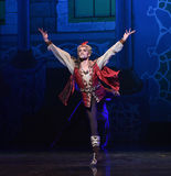 """The king of the brave- ballet """"One Thousand and One Nights"""" Stock Image"""