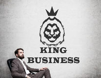 King of business Stock Photo