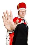 King businessman Stock Images