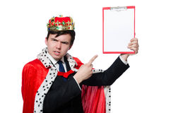 King businessman Royalty Free Stock Photography