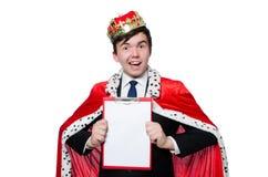 King businessman Royalty Free Stock Photos