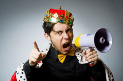 King businessman Royalty Free Stock Images