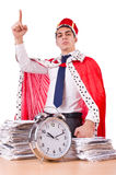 King businessman Stock Photo