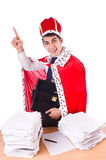 King businessman Royalty Free Stock Image