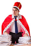 King businessman Stock Images