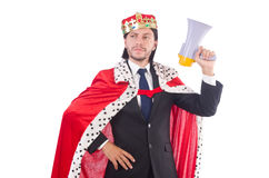 King businessman Stock Photo
