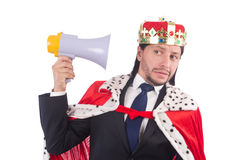 King businessman Stock Photography