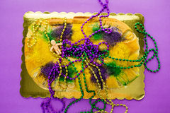 King cake Stock Photography