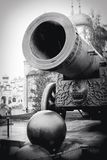 The King Cannon. Moscow Kremlin. UNESCO World Heritage Site. Royalty Free Stock Image