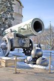 King Cannon in Moscow Kremlin. UNESCO World Heritage Site. Royalty Free Stock Images