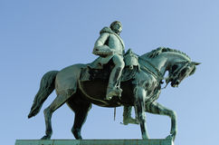 King Carl XIV Johan Statue Stock Photo