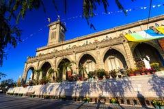King Cathedral (Stone Church), Nha Trang, Vietnam Stock Photo