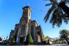King Cathedral (Stone Church), Nha Trang, Vietnam Stock Photography