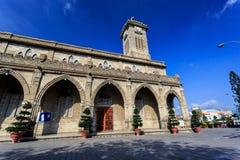 King Cathedral (Stone Church), Nha Trang, Vietnam Stock Images
