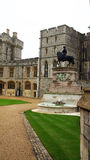 King Charles II statue in Windsor Castle Royalty Free Stock Images