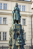 King Charles IV monument Stock Photo