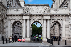 King Charles Street Arches London England Stock Photos