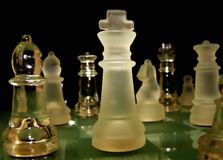 King of chess Stock Images