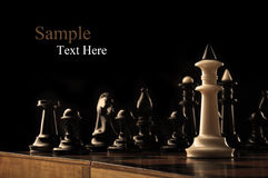 King of chess Royalty Free Stock Photos