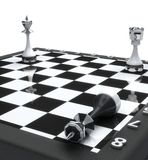 King chess mate Royalty Free Stock Photo