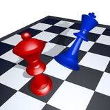 King chess mate Stock Image