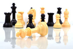 King chess mate Stock Photo