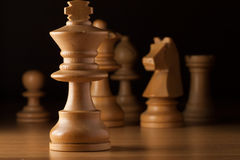 King chess Royalty Free Stock Photo