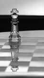 King Chess Piece - business concept series. Stock Photography