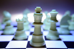 Free King Chess Piece On Board Royalty Free Stock Photography - 3360367