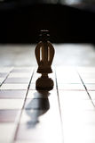 King chess piece with others in background Stock Images