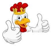 Free King Chicken Rooster Cockerel Bird Crown Cartoon Stock Photography - 160343872