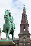King Christian IX Monument in Copenhagen Royalty Free Stock Image
