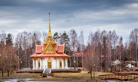 The King Chulalongkorn Memorial Building. In Sweden Royalty Free Stock Photo