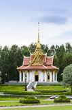 King Chulalongkorn memorial Sweden. King Chulalongkorn memorial in Utanede, Sweden. The Thai pavillion is located in the municipality of Ragunda in Jamtland ( Royalty Free Stock Photos