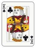 King of clubs Stock Photos