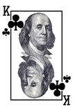 King of clubs. Stock Photography