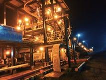 King coal conveyor belt stock image
