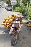 King coconut transport Stock Photo