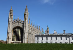 King College Cambridge Royalty Free Stock Images