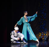 "The king of comfort become dejected and despondent- ballet ""One Thousand and One Nights"" Stock Image"