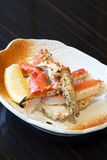 King crab grill Royalty Free Stock Photography