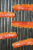 King Crab Legs Grill Royalty Free Stock Images