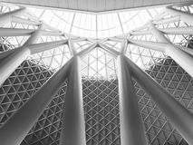 King cross roof. In united kingdom, an modern building in London Royalty Free Stock Photos