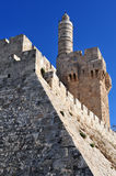 King David Citadel Royalty Free Stock Images
